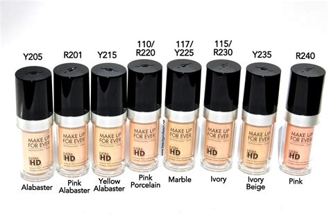 Makeup Forever Hd professor mufe ultra hd invisible cover foundation