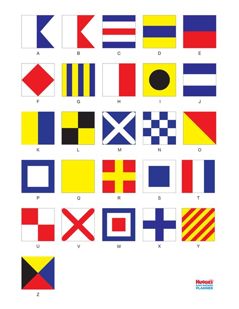 nautical flag free coloring pages of nautical alphabet
