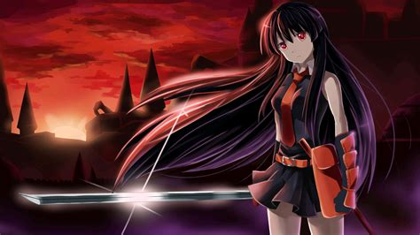wallpaper android anime akame ga kill anime akame ga kill wallpapers desktop phone tablet