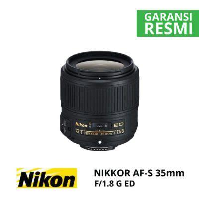 Nikon 35mm F 1 8g Ed Lensa Kamera lensa nikon terbaik harga murah terbaru spesifikasi