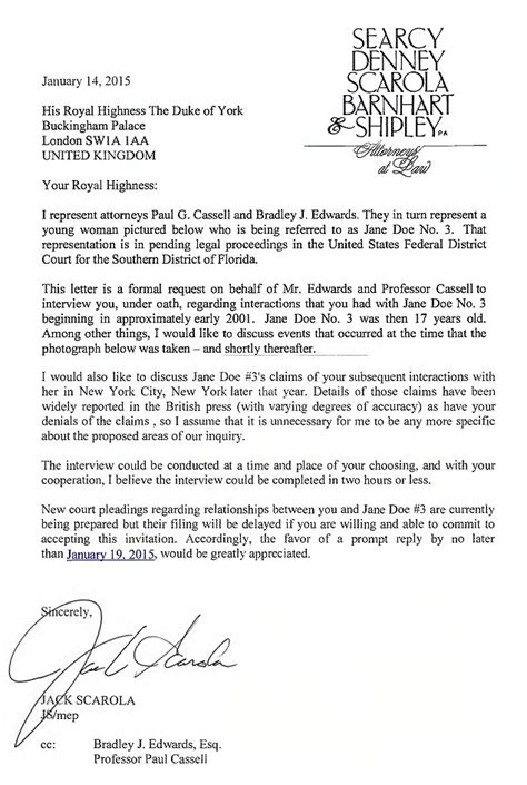 request letter for academic cooperation prince andrew appears at davos for time since