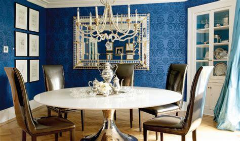 blue wallpaper room blue wallpaper for dining room wallpapersafari