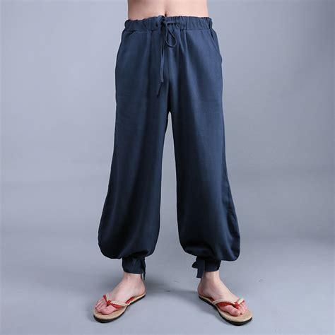 pant leg style compare prices on mens wide leg linen pants online