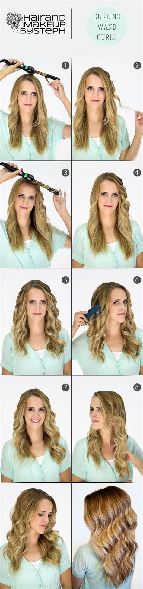 easy hairstyles using curling iron best 25 curling iron hairstyles ideas on pinterest how