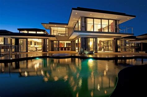 big house design super big and luxury house with big pool by wessels joyce