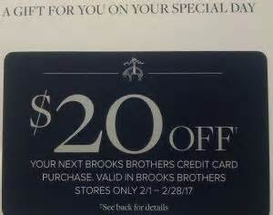 Brooks Brothers Gift Card - the brooks brothers credit card promotion train keeps chugging personal finance digest