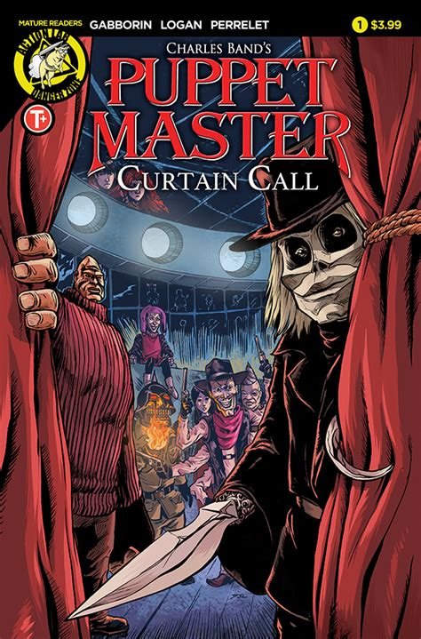 curtain call cover puppet master curtain call 1 preview first comics news