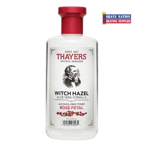 In Jar 50ml Thayers Free Toner Petal thayers witch hazel petal free toner shave nation supplies 174
