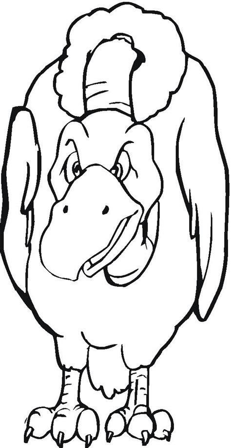 vulture coloring pages az coloring pages