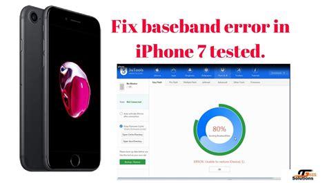 iphone  restore baseband error  solved youtube
