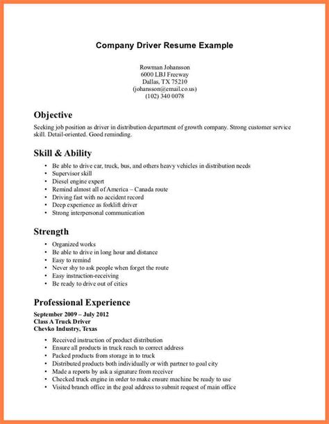 Company Resume by 9 Construction Company Resume Template Company Letterhead