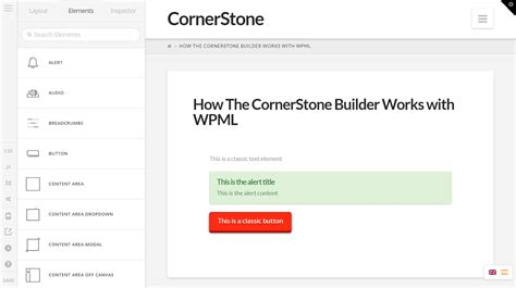 themes compatible with page builder maintaining the cornerstone page builder x theme