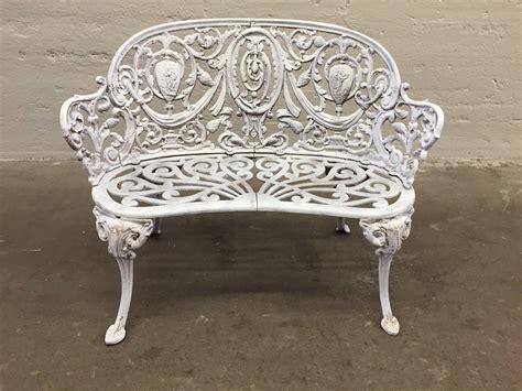 antique cast iron garden bench  sale  stdibs