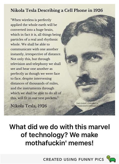 Nikola Tesla Cell Phone Tesla