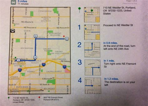 printable written directions how to print driving directions directly from iphone ipad