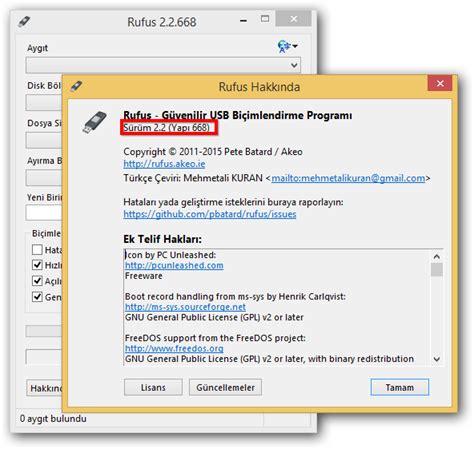 tutorial rufus 2 2 668 t 252 rkiyenin paylaşım platformu rufus 2 2 668 final tr