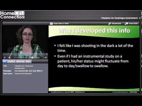 palpation for dysphagia assessment