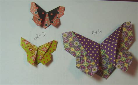 Flat Origami Butterfly - create with me origami butterfly tutorial take a