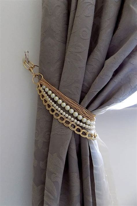 drapery tie back holders exclusive curtain holders tie back with by