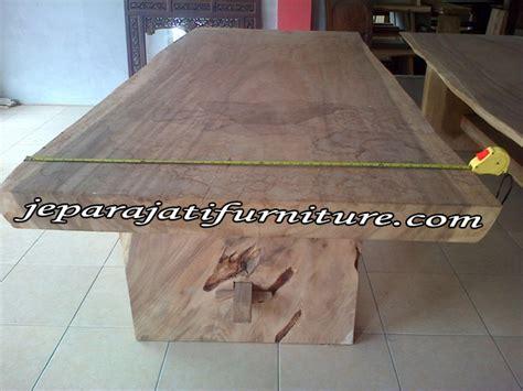 Meja Kayu Besar meja kayu besar jepara jati furniture