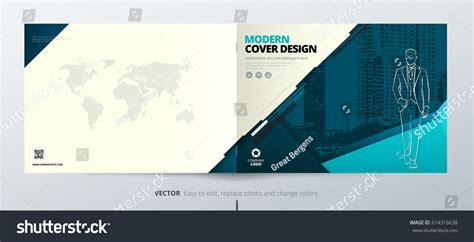 divine design teal modern blogger template landscape brochure design teal corporate business stock