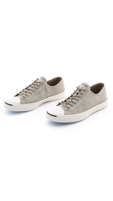 purcell sneakers converse purcell twill sneakers in gray for lyst