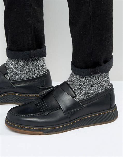 loafers doc martens dr martens dr martens lite edison black temperley tassel