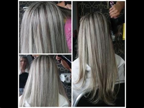 imagenes de rayitos del cabello mechas platinadas youtube