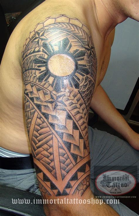 filipinotattoo filipino tribal tattoo polynesian