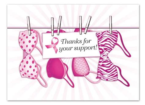 Mapepe Ribbon Clip Black 2 Pcs breast cancer thank you cards thank you cards think