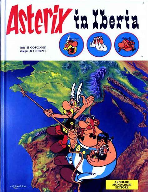 asterix spanish asterix la 843450815x mondadori editore asterix riste cartonate 14 asterix in iberia