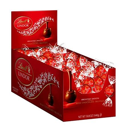 lindt lindor milk chocolate truffles 120 count import