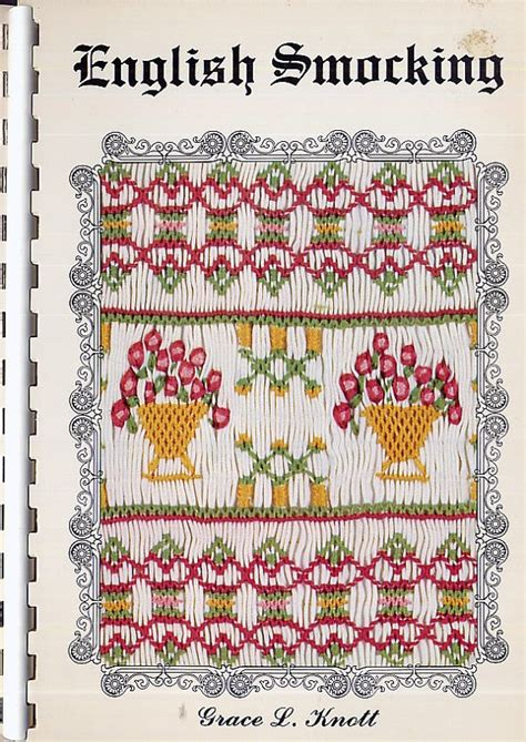 revised pattern of english qp for ix x 17 best images about smocking plates on pinterest