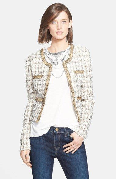 Tania Blazer 2014 nsale mcginn tania embellished houndstooth tweed jacket available at nordstrom sale