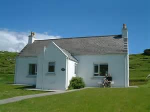 white cottage roghadal isle of harris c douglas