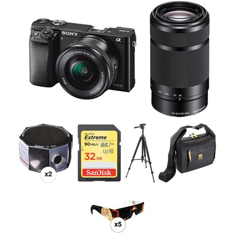 Sony Mirrorless A6000 Kit 16 50mm sony a6000 mirrorless digital with 16 50mm and 55 210mm
