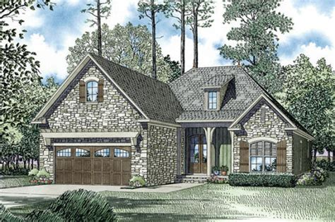 european cottage house plans european style house plan 3 beds 2 baths 1572 sq ft plan