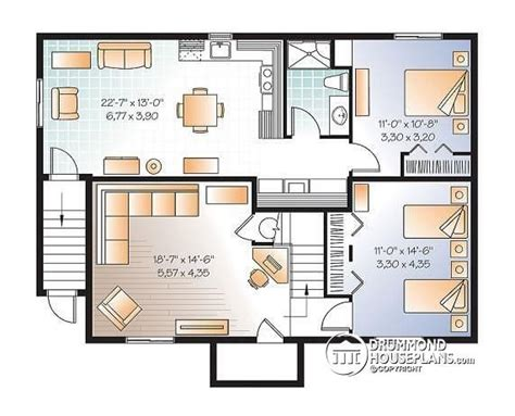 multi family house plans apartment house plans with basement apartment beautiful multi family plan w3117 v2 detail from