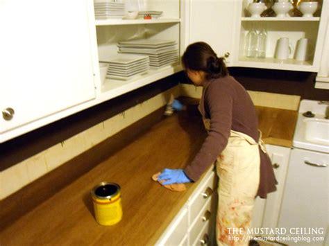 diy wood door countertops remodelaholic 100 wooden countertops tutorial
