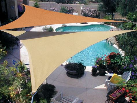 backyard sail shade sails
