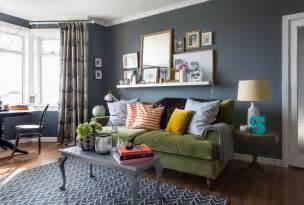 wohnzimmer blau grau blaue wand im wohnzimmer roomido