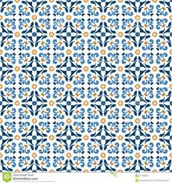 Spanish Floor Plans old floral tiles stock vector image of cover