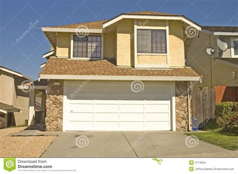 typical modern tract home stock photo image  investment