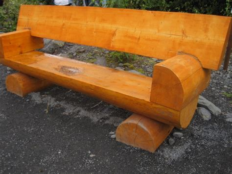 tree log bench 1000 images about log benches on pinterest gardens