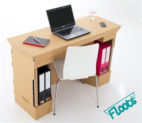 Cardboard Desk Drawers by Eco Floots Cardboard Furniture