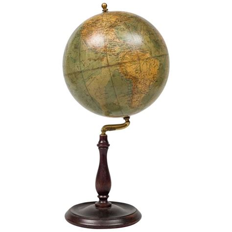 Desk Globe Picture More Detailed Philips Desk Globe Circa 1910 1820 For Sale At 1stdibs