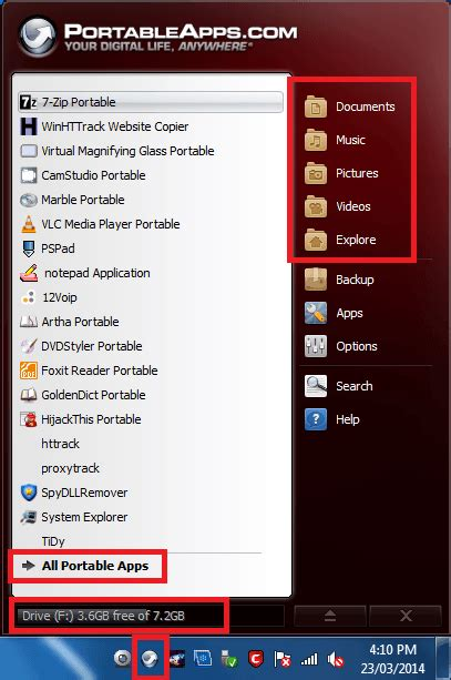 portable apps themes download portableapps platform settings mbrsolution