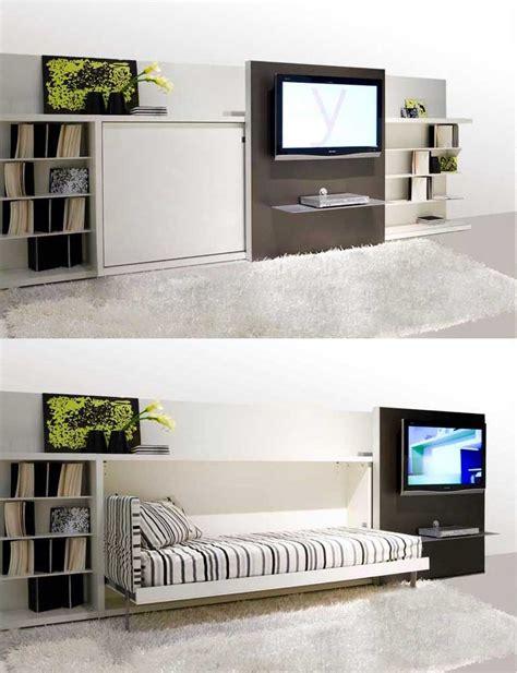 living room beds hidden wall sofa bed in modern living room interior