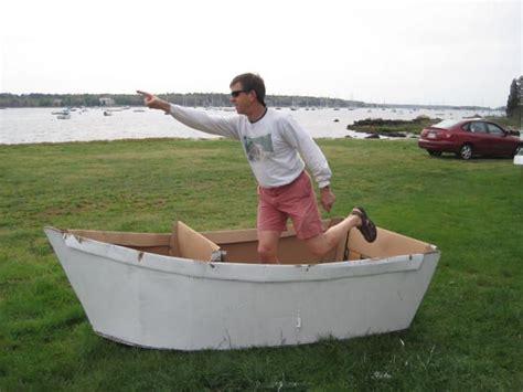cardboard boat craft cardboard boat kids summer fun pinterest boating