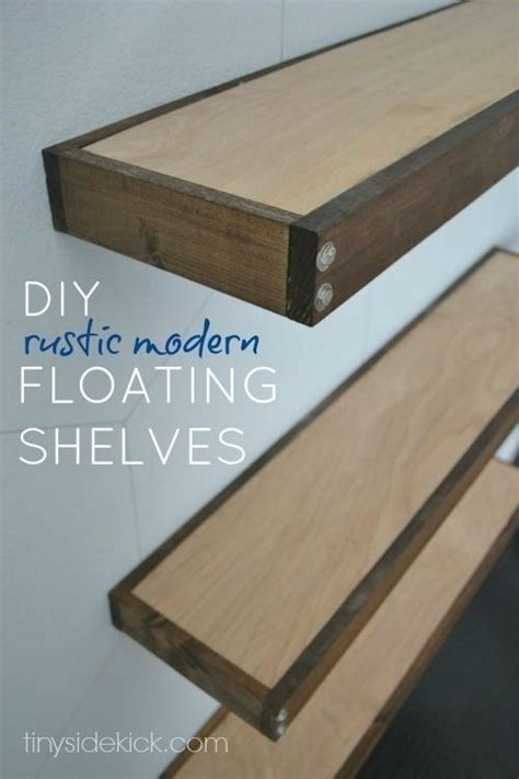 Does Def A Shelf by Diy Rustic Modern Floating Shelves Diy And Crafts Modern And Living Rooms